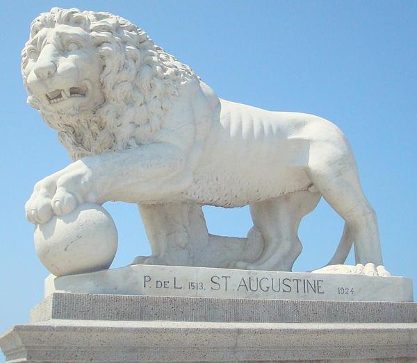 Kay Gilley - Bridge of Lions Statue