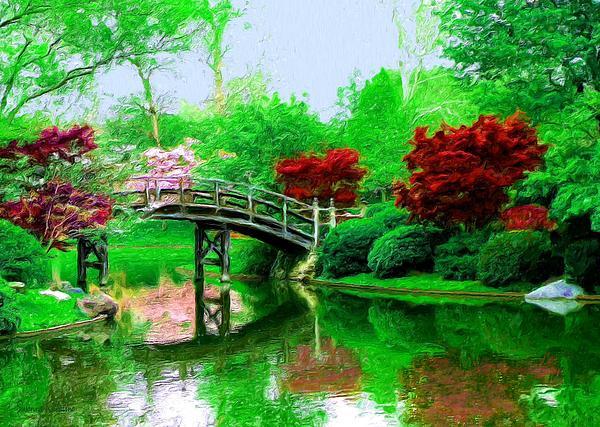 Susanna  Katherine - Bridge Over Calm Waters Closeup