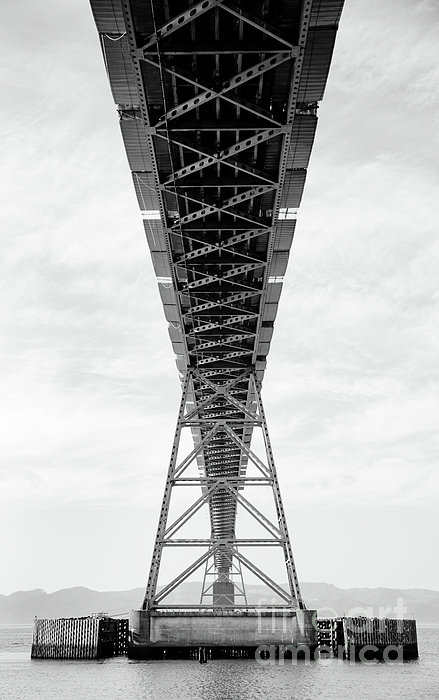 Bridge Span Print by Charmian Vistaunet