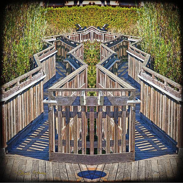 Bridge To Beyond Print by Chuck Staley
