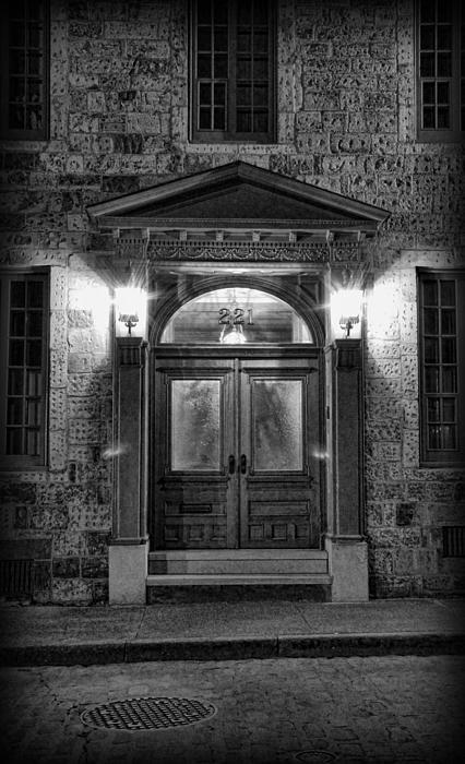British - Jack The Ripper's Doorway II Print by Lee Dos Santos