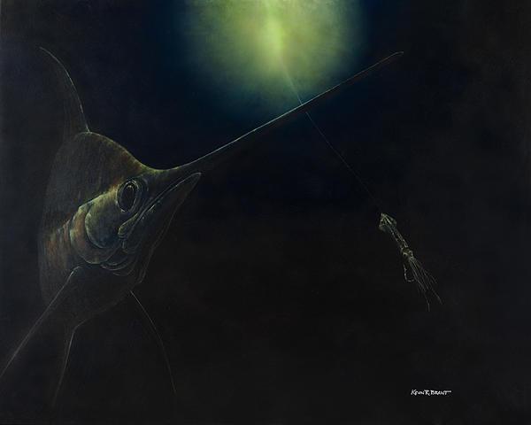 Broadbill Nights Print by Kevin Brant