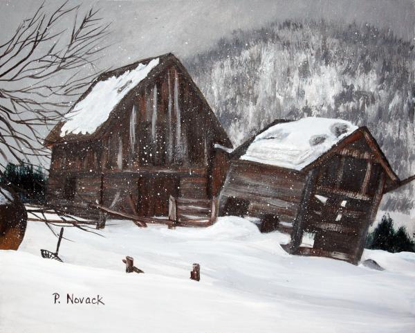 Patricia Novack - Broken Barn