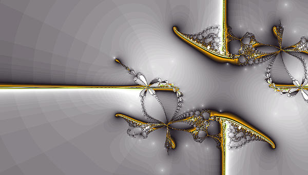 Broken Jewelry-fractal Art Print by Lourry Legarde