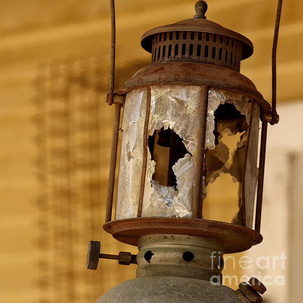 Broken Lantern Print by Art Block Collections