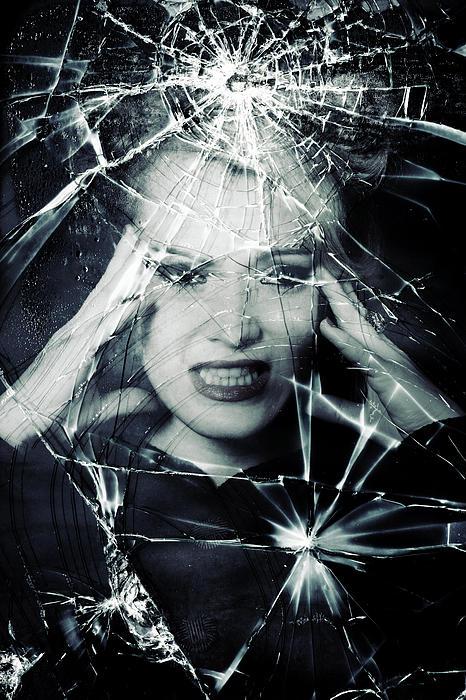Broken Window Print by Joana Kruse