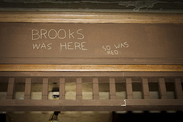 Brooks Was Here Print by Jack R Perry