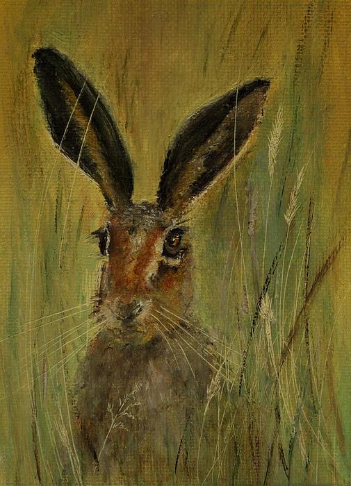 Lynn Hughes - Brown Hare Miniature