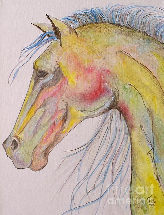 Bruce Print by Jane Chesnut
