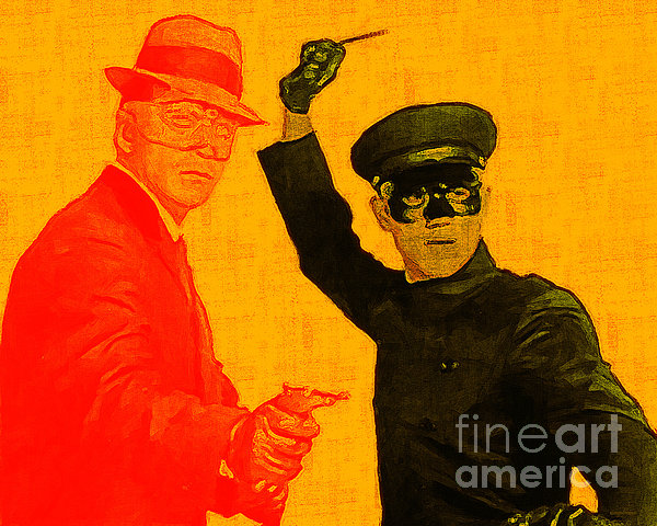 Bruce Lee Kato And The Green Hornet 20130216 Print by Wingsdomain Art and Photography