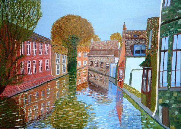 Magdalena Frohnsdorff - Brugge canal