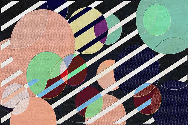 Bubble Universe Print by Linda Dunn