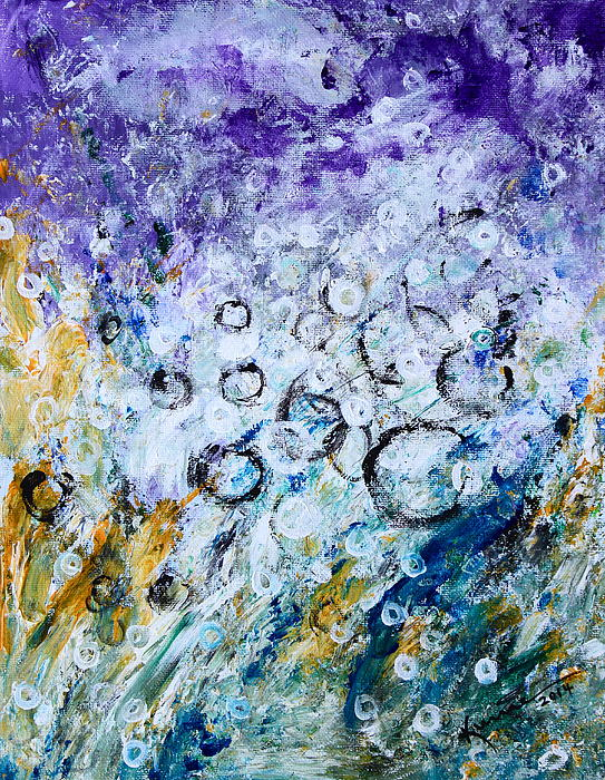 Bubbles Print by Kume Bryant