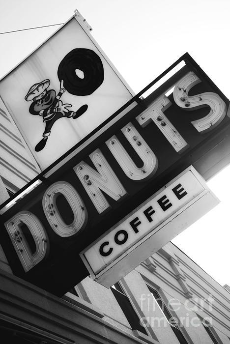 Buckeye Donuts Print by Rachel Barrett