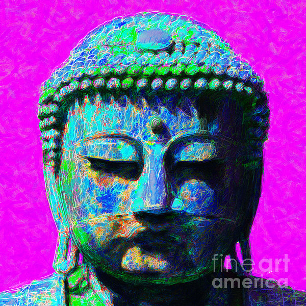 Buddha 20130130p76 Print by Wingsdomain Art and Photography