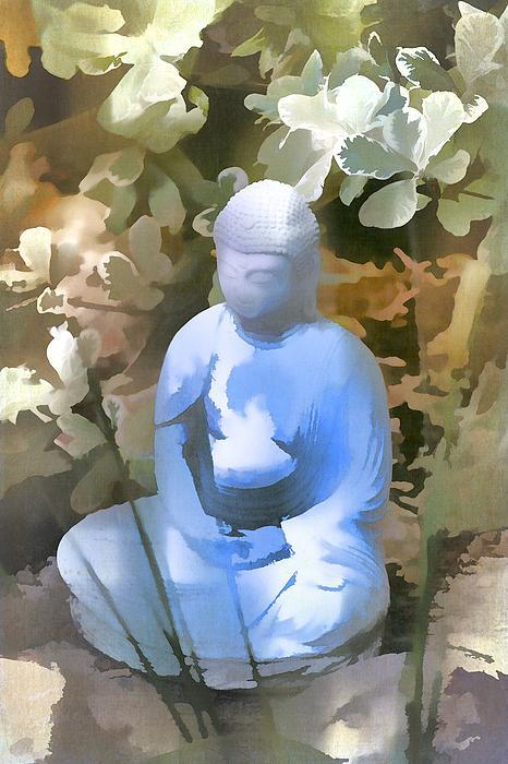 Buddha 3 Print by Pamela Cooper