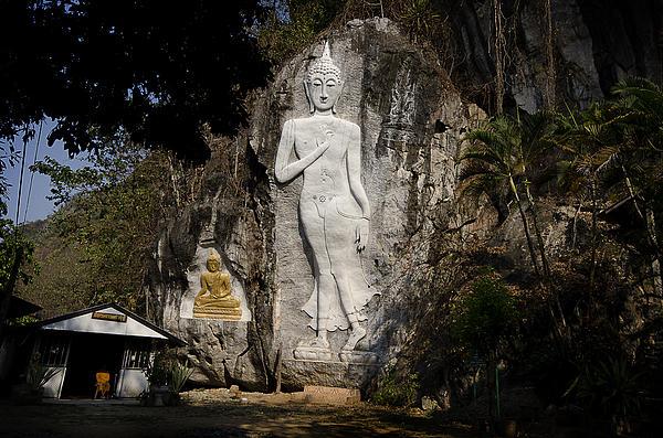 Buddha Caves Chiang Rai Print by Duane Bigsby