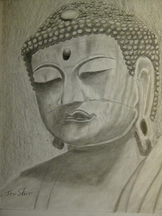 Buddha Print by Irving Starr