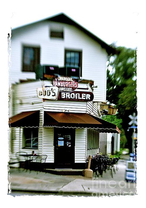 Bud's Broiler Print by Scott Pellegrin