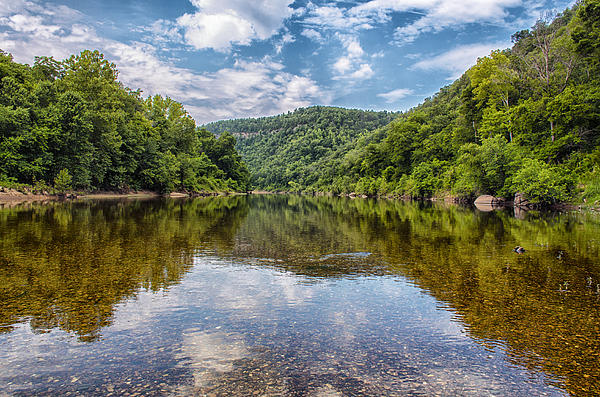 Buffalo National River Print by Bill Tiepelman