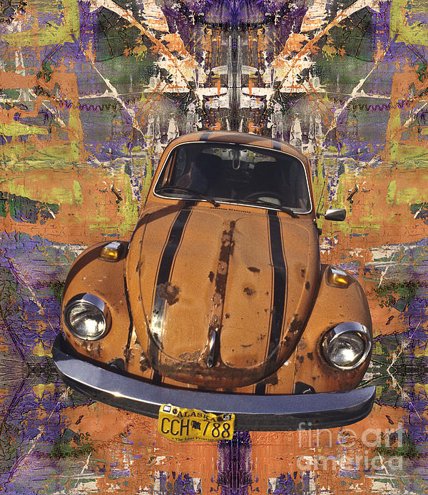 Bug Love Print by Bruce Stanfield