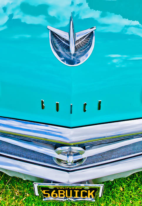 Buick Grill Print by Phil 'motography' Clark