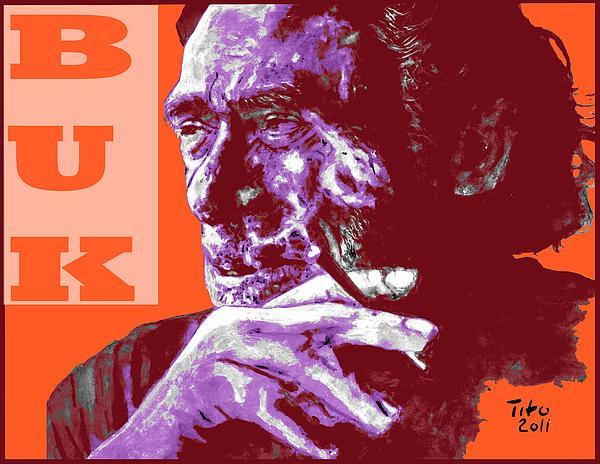 Buk  Print by Richard Tito