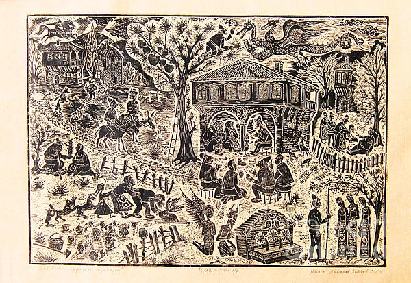 Bulgarian Folk Tales Print by Milen Litchkov