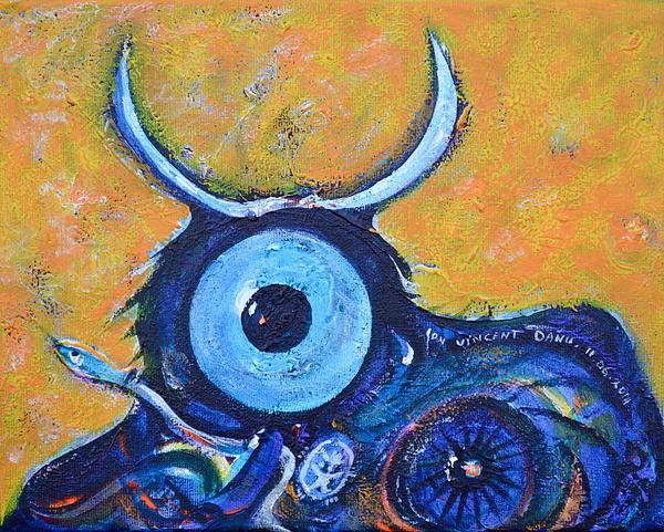 Bull's Eye Print by Ion vincent DAnu