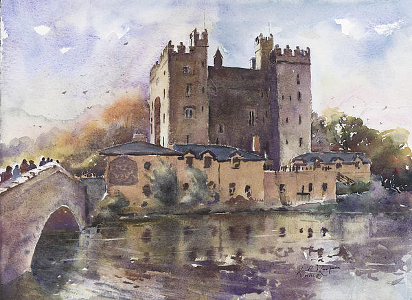 Keith W Thompson - Bunratty Castle Reflections County Clare