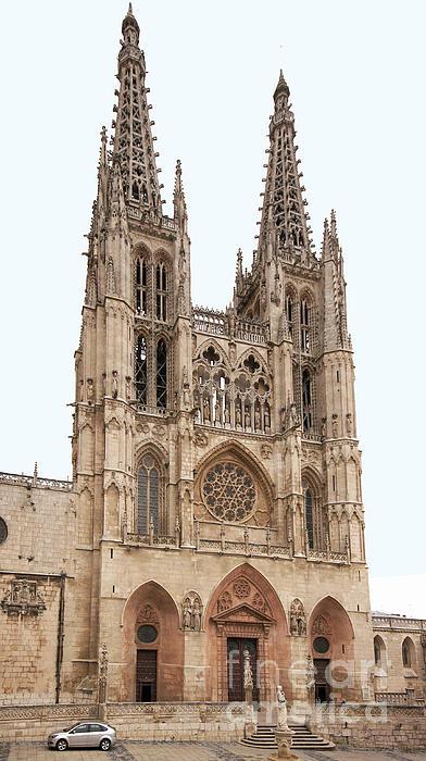 Burgos Cathedral Spain Print by Rudi Prott