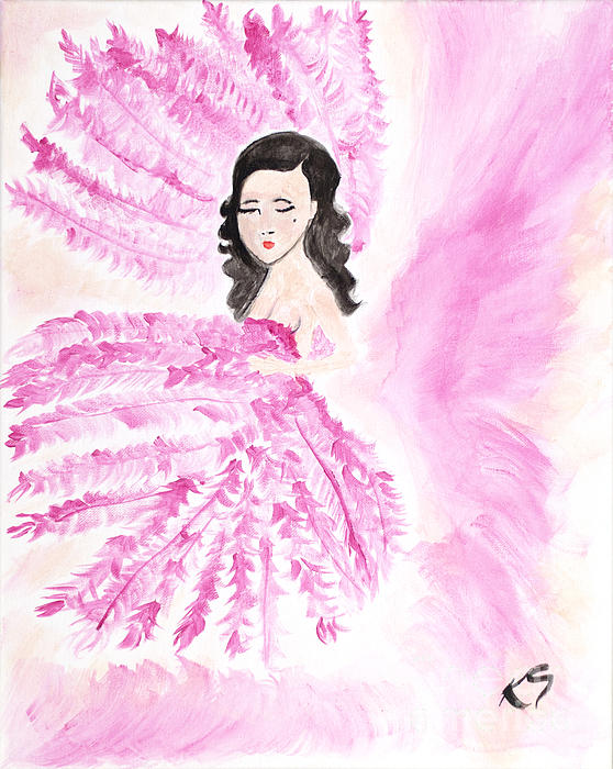 Burlesque Print by Katy  Scott