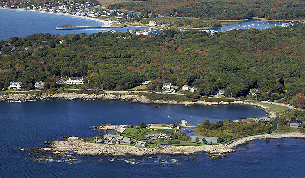 Bush Compound, Kennebunkport Print by Dave Cleaveland