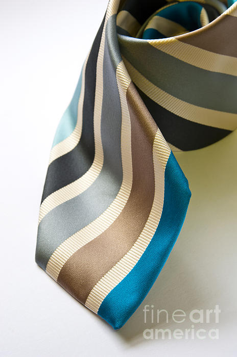 Business Tie Print by Tim Hester