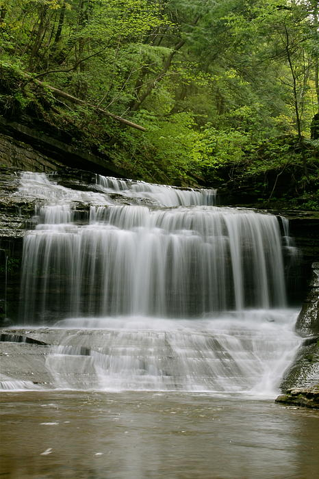 Buttermilk Falls Print by Judd Connor