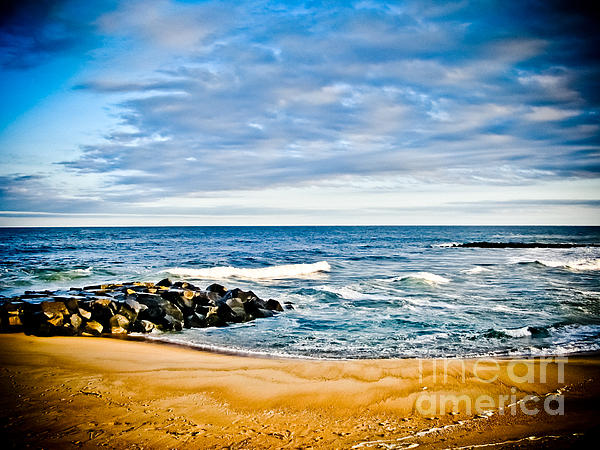 By The Beautiful Sea Print by Colleen Kammerer