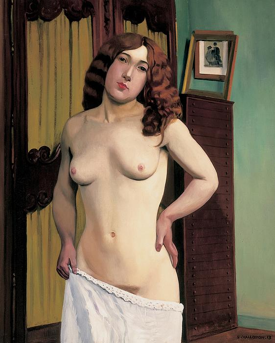 Cabinet Chest Print by Felix Edouard Vallotton