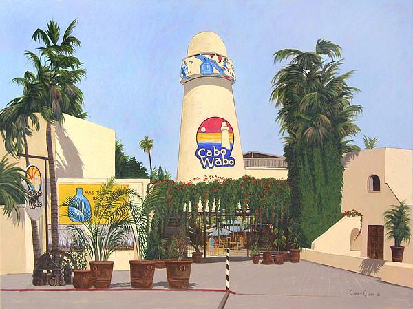 Cabo Wabo Cantina Print by Chris MacClure