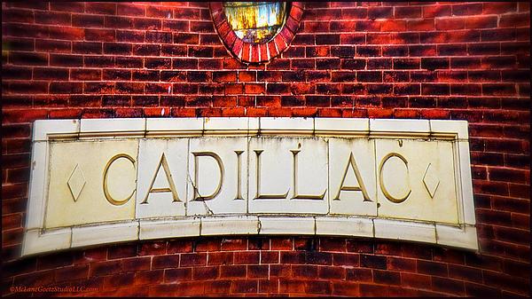 Cadillac Print by LeeAnn McLaneGoetz McLaneGoetzStudioLLCcom
