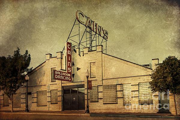 Cain's Ballroom Print by Tamyra Ayles