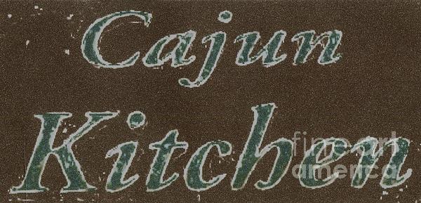 Cajun Kitchen Print by Joseph Baril