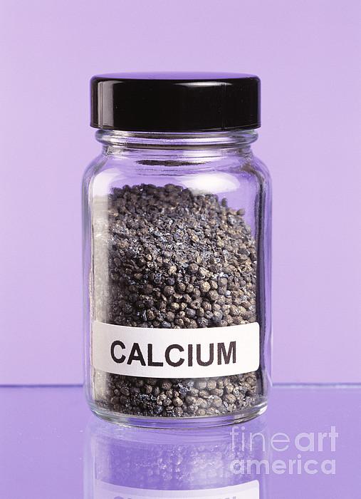 Calcium Print by Martyn F. Chillmaid