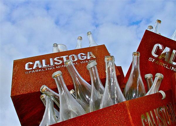 Calistoga Bubbles Print by Michael Blesius
