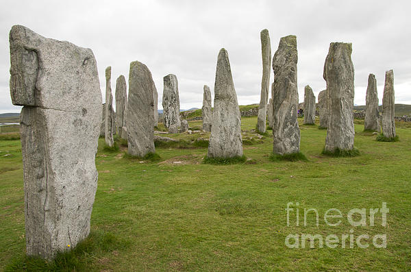 Callanish Standing Stones Print by Ron Pettitt