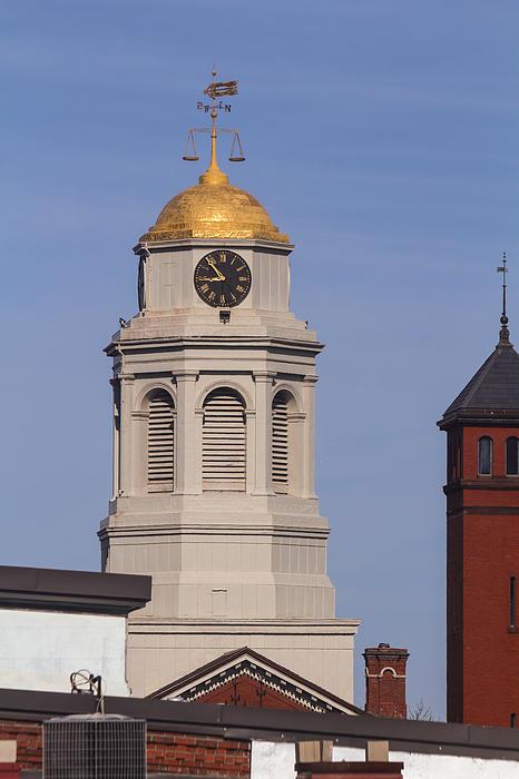 Allan Morrison - Cambridge Courthouse Clock Tower