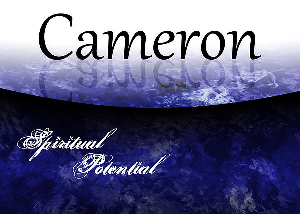 Cameron - Spiritual Potential Print by Christopher Gaston