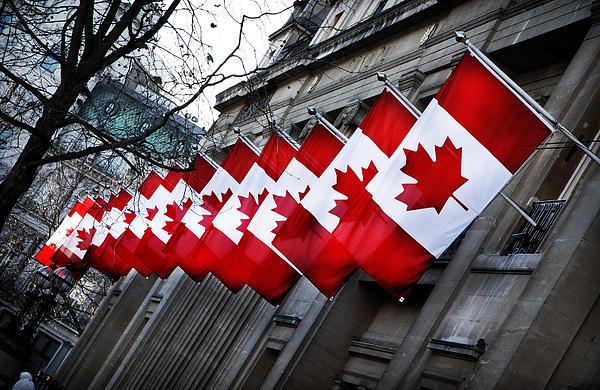 Canadian Embassy London Print by Mark Rogan