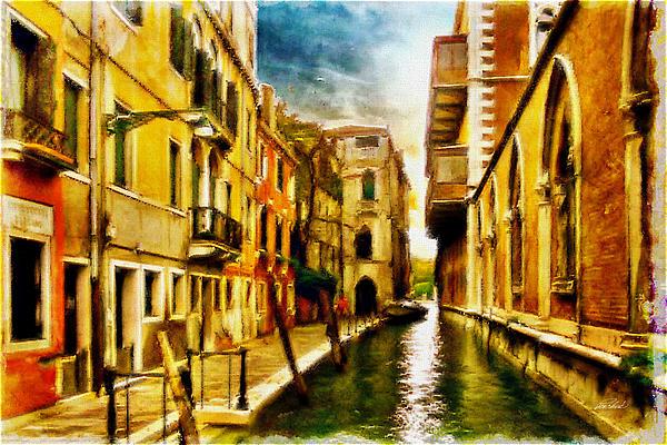 Robert Gividen - Canal - Alejando Driveway in Venice Italy