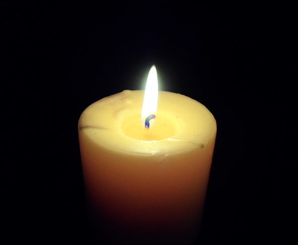 Candle Print by Jenna Mengersen
