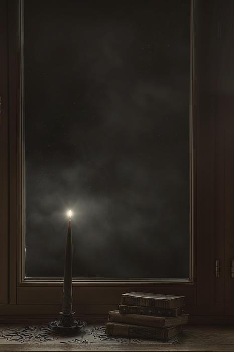 Candle Light Print by Joana Kruse